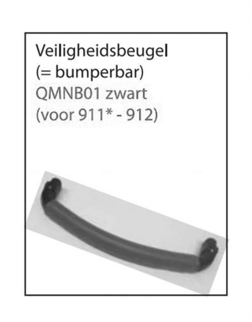 BUMPERBAR Q-MOON ZWART (VOOR 911 EN 912)