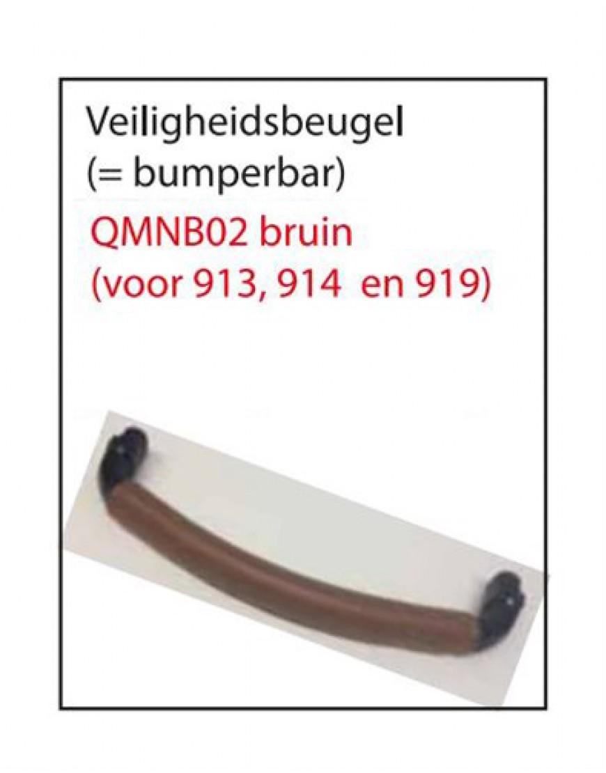 BUMPERBAR Q-MOON BRUIN (VOOR 913, 914 EN 919)